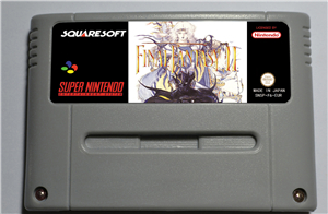 Final Fantasy II - RPG Game Card EUR Version Battery Save image