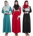 2017 новое прибытие абая Мусульманская одежда женщины халаты платье