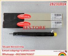 100% оригинальный Подлинный и новый форсунок Common rail 28231014 для Great Wall Hover H6 1100100-ED01