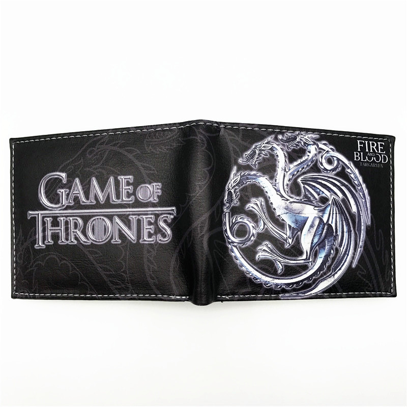 Game of Thrones Fashion Leather Wallets