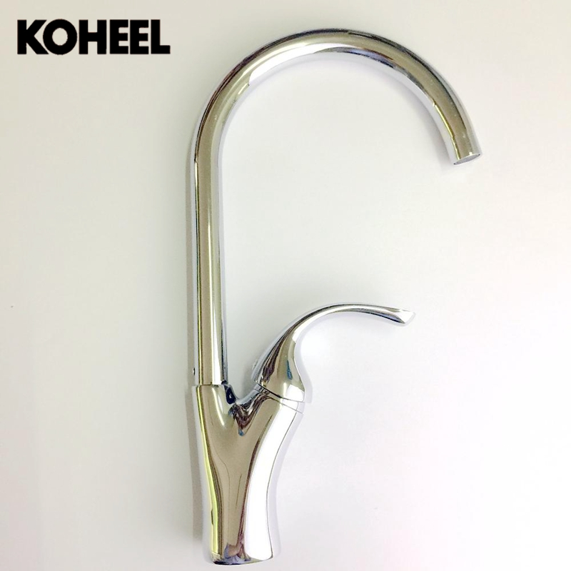 Branche Type Brass Single Hole Kitchen Faucet Hot and Cold Basin Faucet