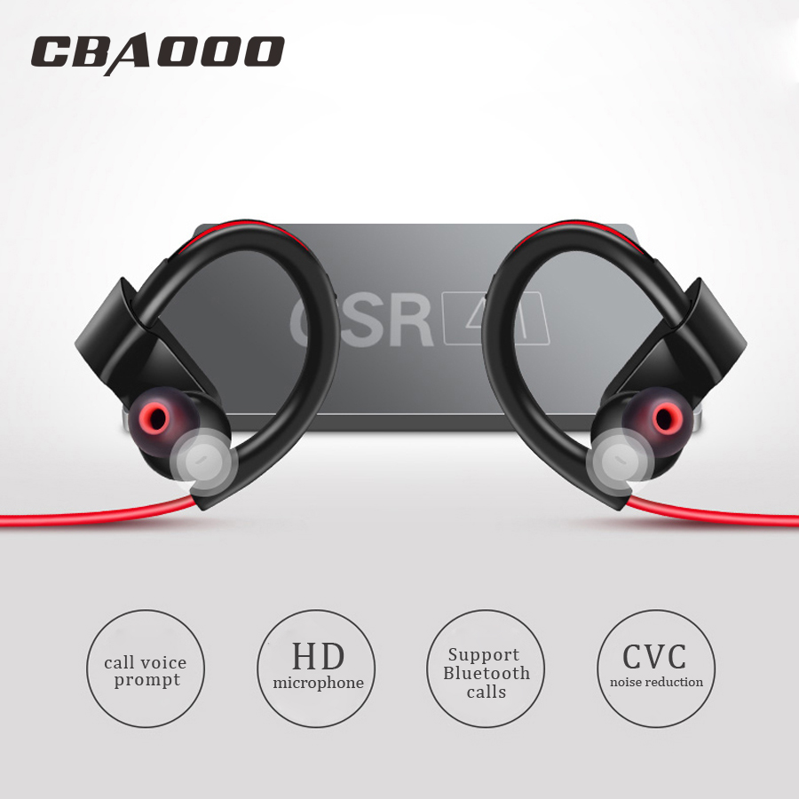 Sport Bluetooth Headphone Wireless Earphone Bluetooth Waterproof noise reduction Stereo Headset with Microphone for xiaomi rock y10 stereo headphone earphone microphone stereo bass wired headset for music computer game with mic