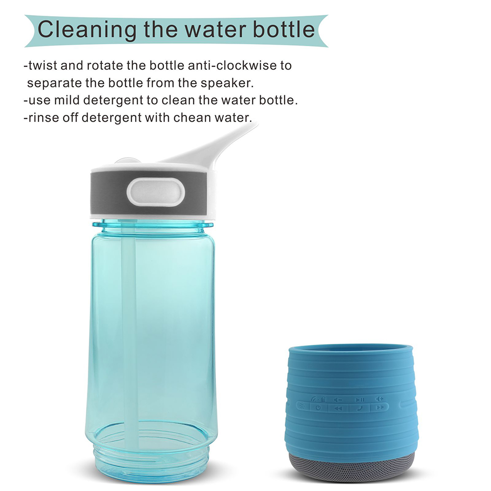 Bluetooth Audio Speaker Bottle Cycling Cup Multi-functional Bike Water Bottle For Bicycle