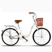 22-дюймовый взрослых дорожный велосипед Город пригородны мужского и женского пола Портативный велосипеда