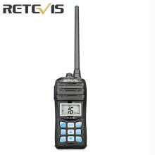 Retevis RT55 5W Marine Walkie Talkie IP67 Waterproof VHF USA/International/Canadian Marine Channels NOAA Weather Alert