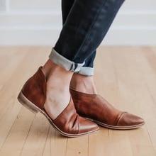 Сандалии гладиаторы на плоской подошве в ретро стиле; женские сандалии на плоской подошве с острым носком в римском стиле; Повседневная однотонная обувь без шнуровки в богемном стиле; большие размеры