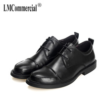 High Quality Genuine Leather Shoes Men,Lace-Up Business Men Shoes,Men Dress soft bottom cowhide men designer shoes