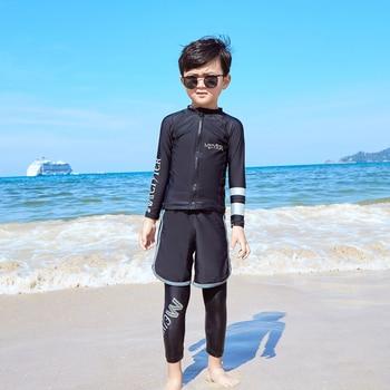 Rash Guard Boys | MEIYIER Summer Full Body Boys Rash Guard Zipper UV Protect Long Sleeve Swimwear Children For Beach Sports Swim Surf Cloth Kids