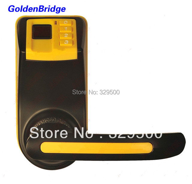 3 in 1 DIY New ADEL LS9 Biometric Fingerprint Password Door Lock ( Fingerprint+Password + Mechanical Key )