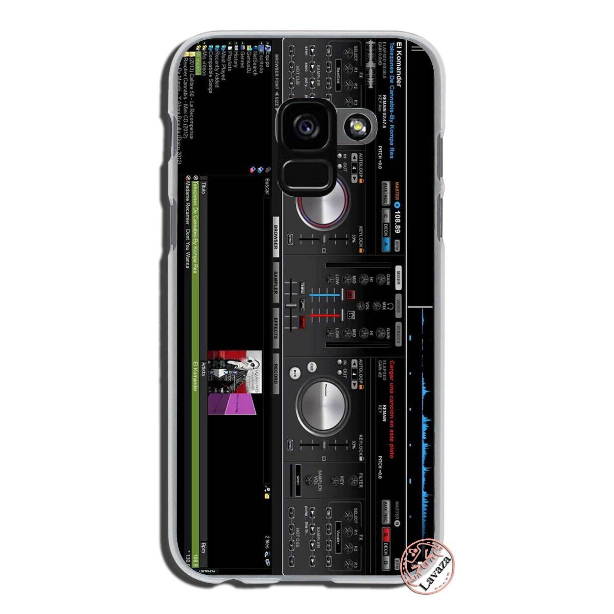 Lavaza ddj dj music Hard Phone Case for Samsung Galaxy A9 A8 A7 A6 Plus  2018 A5 A3 2017 2016 2015 Note 9 8 A8Plus Cover