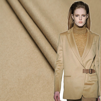 High-end export camel cashmere fabric winter coat wool fabric thick coat cashmere wool cashmere cloth wholesale cashmere cloth фото