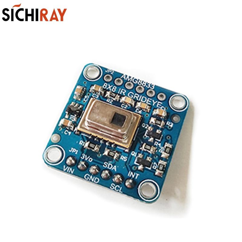 Thermal imaging module infrared device sensor support the electronic design of Duino development board MCU module xilinx xc3s500e spartan 3e fpga development evaluation board lcd1602 lcd12864 12 module open3s500e package b