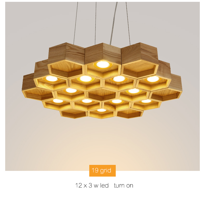 wood pendant 16