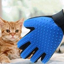 Pet Уход за лошадьми перчатки для расческа для котов гребень кошка Hackle вычесывание животных кисти перчатки для животных кошка Pet волос перчатки для кошки Уход за лошадьми