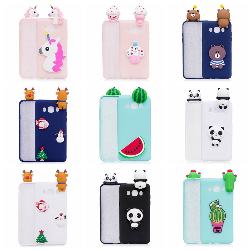 Galleria fotografica 3D Case For Samsung Galaxy J5 2016 Case Panda Unicorn Flamingo Phone Cases For Galaxy J5 2016 Coque For Samsung J5 2016 Case