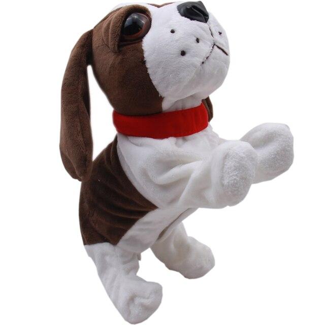Электронные Собаки Домашние Животные Звук Управления Интерактивный Робот Собака Кора Стоять Ходить Электронные Игрушки Собака Подарок Для Ребенка Рождество Игрушка в Подарок