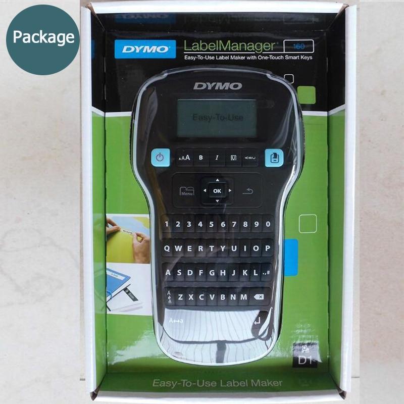 DYMO LM160 machine à étiquettes anglais portable étiquette imprimante LMR-160 autocollants imprimante d'étiquettes 45013 40913 45018 43613 45010 - 2