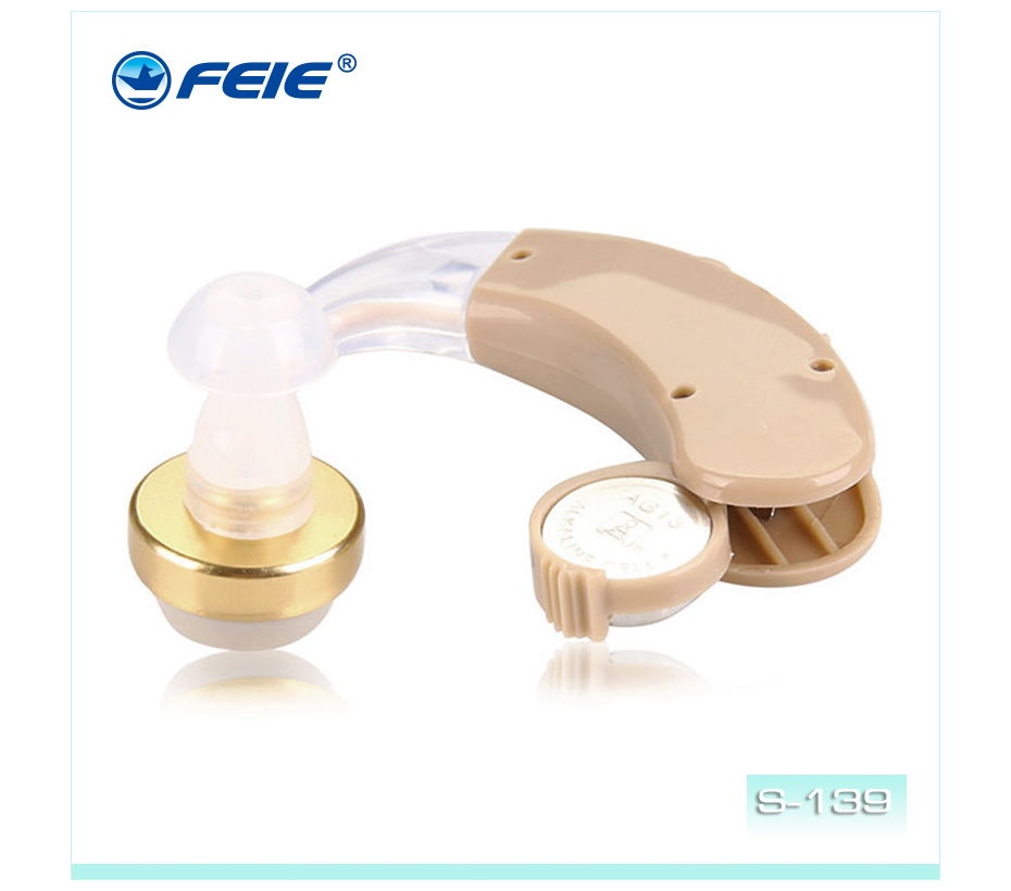 innovative chinese products 2018 BTE behind the ear hearing aids cheap hearing aid a 675 S-139 Drop Shipping