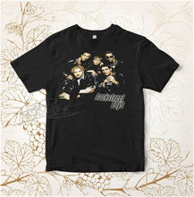 VINTAGE 90s Backstreet Boys 1998 Tour Tee Shirt TOP  Summer Short Sleeves New Fashion T-Shirt