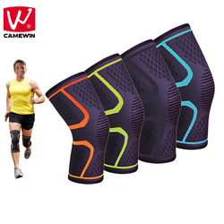 Camewin 1 pcs knee pads for basketball badminton running hiking et all high elasticity breathable knee.jpg 250x250