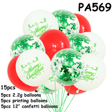 New Year Decoration balloons  Xmas christmas balloon Festival Christmas For Home Merry ballon