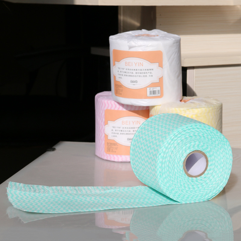 18m Multifunction Disposable Cosmetics Face Towels Non-woven Pads Face Clean Swabs Makeup Removing Home Travel Paper Towel Roll