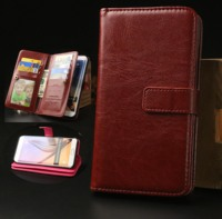 Cell Phone Fundas For LG K10 2017 LG LV5 Case Luxury Flip Leather Stand Case Hight