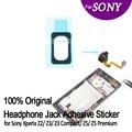 Оригинальный Разъем Для Наушников Клей Наклейка для Sony Телефон Водонепроницаемый Наклейка для Sony Xperia Z5 Premium Z5 Z3 Z3 Compact Z2