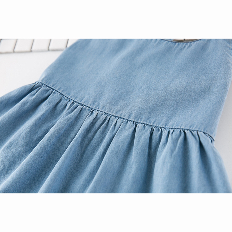 HTB1IBEYQFXXXXaVXpXXq6xXFXXXp - New Girls Dress 2018 Casual Summer Style Bull-puncher Dresses Cotton Kids Clothes Backless Denim Dress  Shoulder-Straps 3-7Y