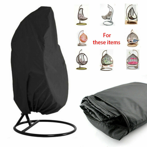 Outdoor Swing Hanging Chair Eggshell Dust Cover Polyester UV Protection Universal Cover Garden Waterproof Dust Cover