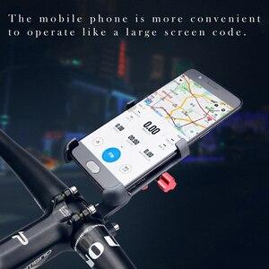 Image 4 - URANT aluminiowy uchwyt motocyklowy 360 stopni obrotowy uchwyt rowerowy uchwyt rowerowy na telefon komórkowy gps stojak na telefon