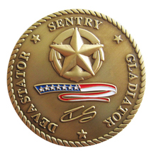 Wholesale custom military coin new brass coins