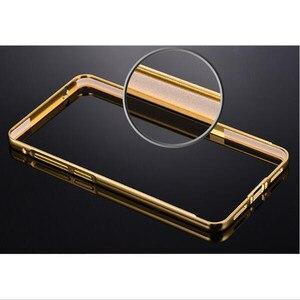 Роскошный Золотой зеркальный чехол для Sony Z3 Compact, металлический алюминиевый + акриловый чехол-накладка для Sony Xperia Z1 Z2 Z3 Z4, чехол для телефона