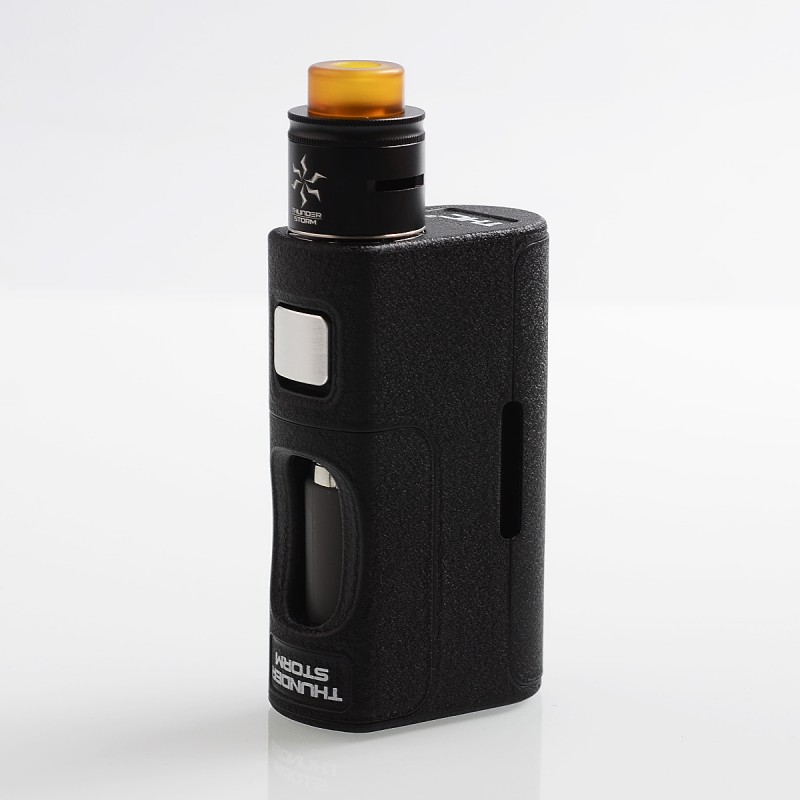 11.11 Original ThunderHead Creations THC Thunder Storm PPS BF 18650 / 20700 / 21700 Squonk Mechanical Box Mod with RDA Vape Kit цены