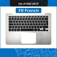 A1502 Top case for Macbook Pro Retina 13 A1502 Topcase Palmrest + FR French Keyboard + Keyboard backlight 2015 MF839 MF841