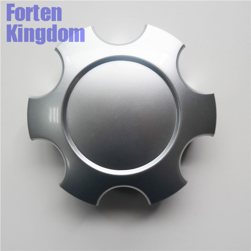 Cooperative Forten Kingdom 4 Pieces Car Abs Silver Blank Hubcaps Cover 140mm 5 1/2 Rim Custom Wheel Center Cap 69440 Removing Obstruction Exterior Parts