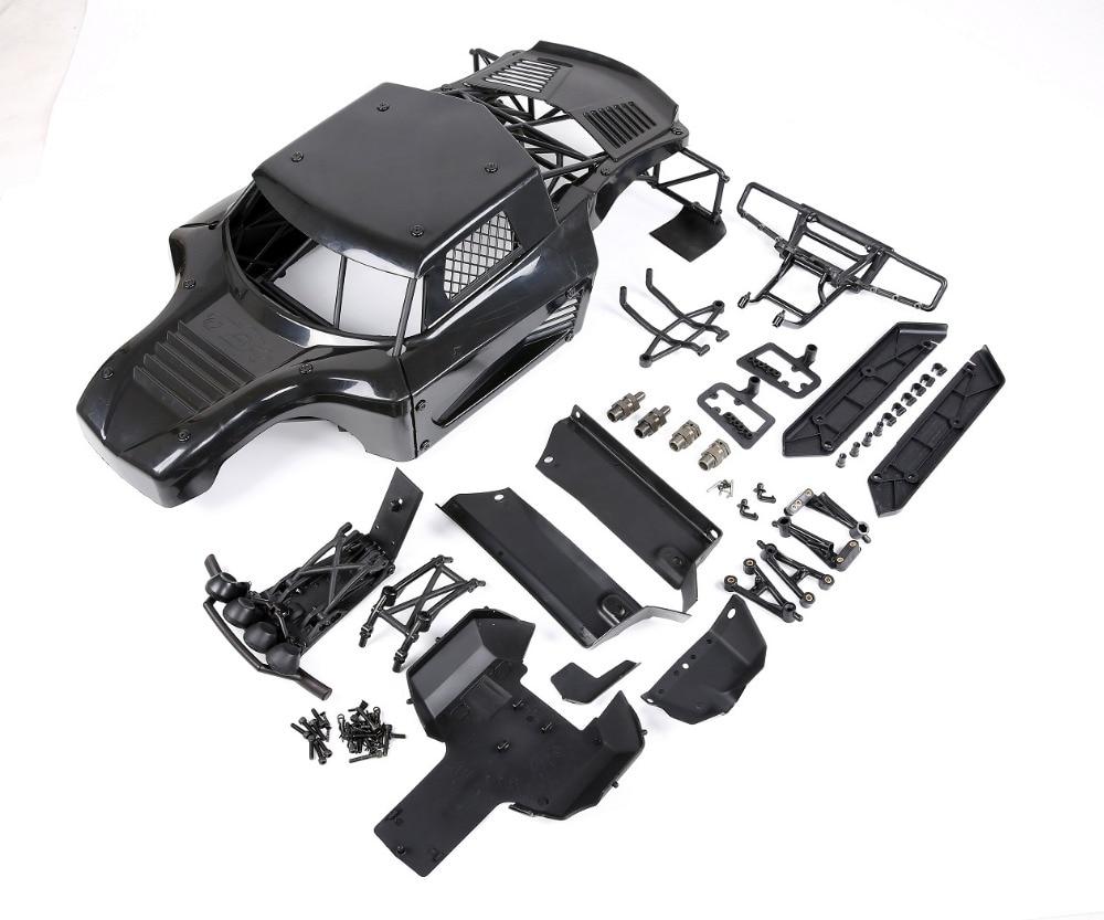 ROVAN LT Body shell conversion 5b Body shell & roll cage kit for 1/5 hpi rovan km baja 5b rc car parts 1 5 rc car car shell kit fit hpi rovan baja ft parts