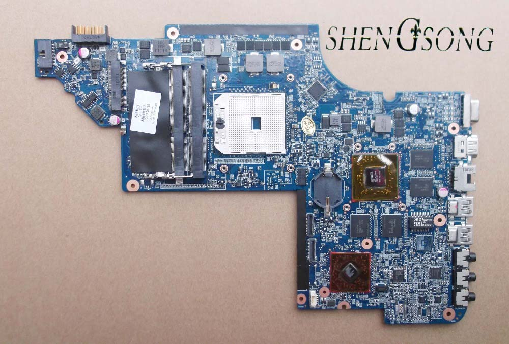 650851-001 for HP DV6-6000 DV6-6100 Laptop Motherboard DV6-6104 DV6-6104AX HD6750/1G 100% test passed!!! Free shipping free shipping 100% tested 665342 001 board for hp dv6 dv6t dv6 6000 dv6 6b dv6 6c laptop motherboard
