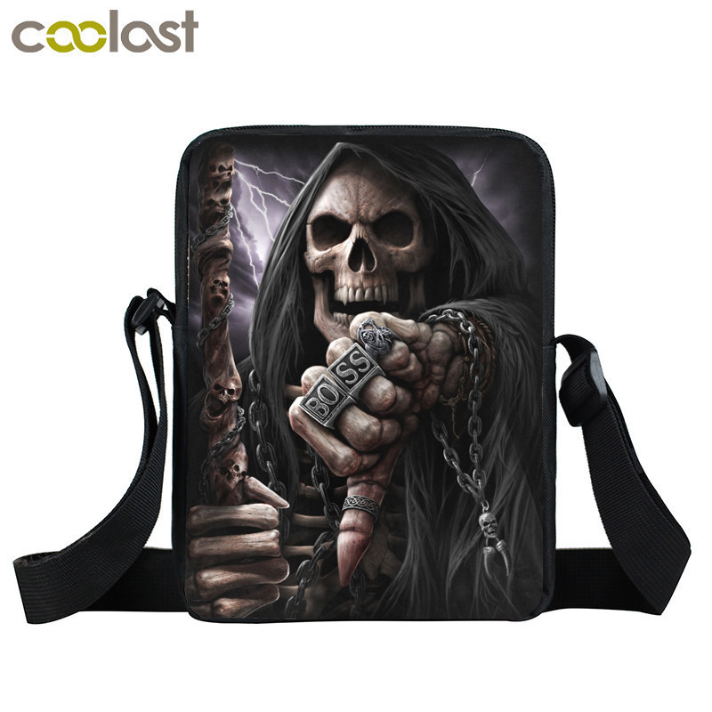 Skull Crossbody Bags for Women Bag Magic Gothic Handbag Ladies Clutch Children School Bags dames tassen Baobao Men Shoulder Bags bromen crossbody bags for women leather handbags pvc printing satchels ladies shoulder messenger bag brand design dames tassen