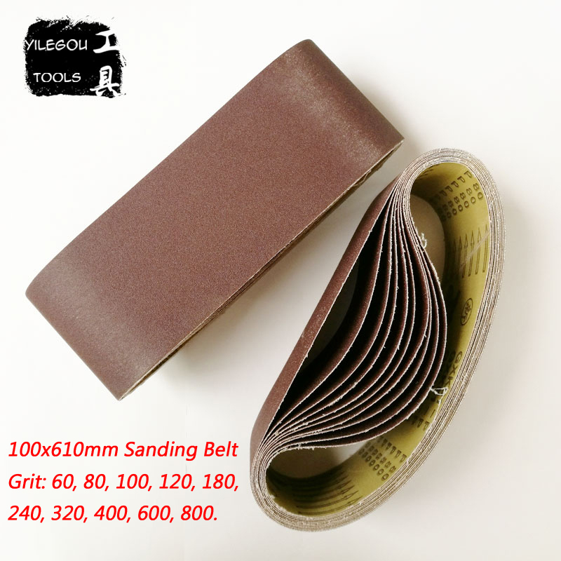 5 Pieces 100*610 Mm Sanding Belt 4