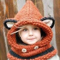 4 12Years Children Hat Boy Girl Cap Baby Knitting Wool Bonnet Toddler Hat Caps Knitted Crochet