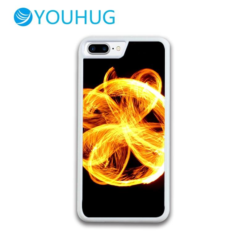 YOUHUG Creative Fireball Back Cover Phone Case TPU Case for IPhone 5 5 6 6 6 7 8 6 / 6s / 7/8 Plus Case for IPhone 7 Cover