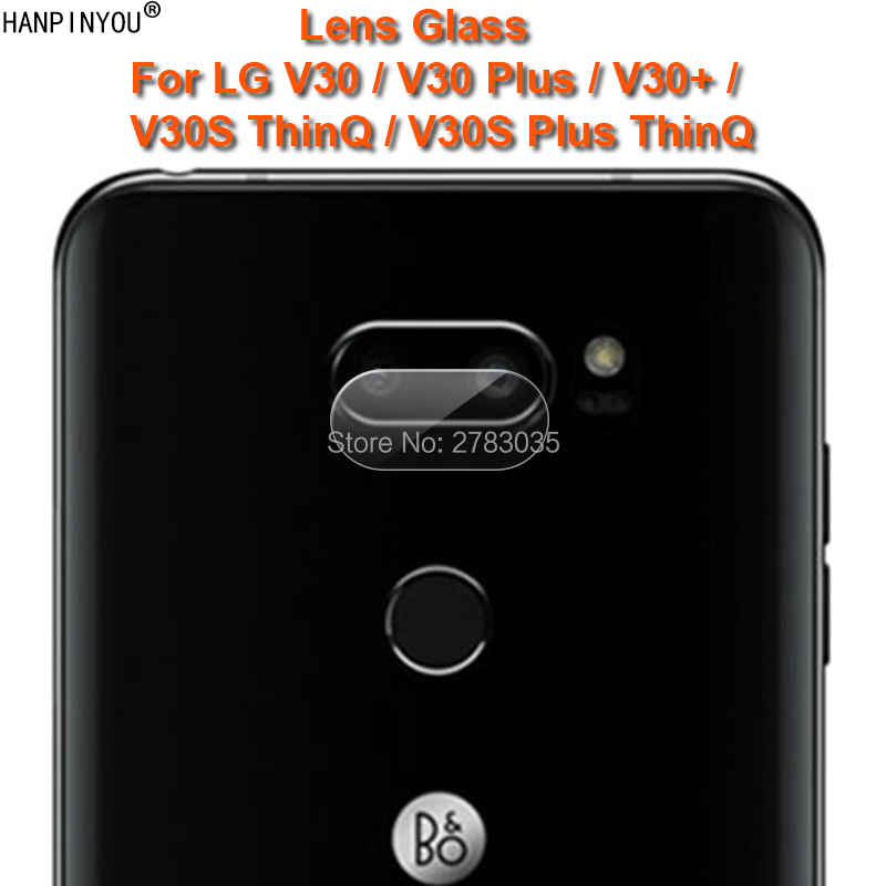 For LG V30 V 30 V30 V30s ThinQ Plus 6.0 Clear Ultra Slim Back Camera Lens Protector Rear Camera Lens Cover Tempered Glass Film