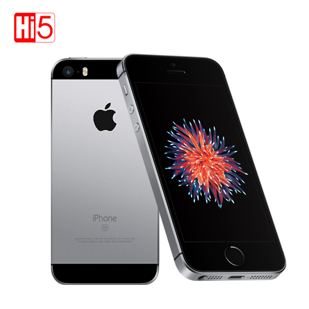 "Original Apple Iphone SE Mobile PhoneA1723/A1662 2GB RAM 16GB/64GB ROM 4.0"" Multi Language IOS Dual Core Used Smartphone"