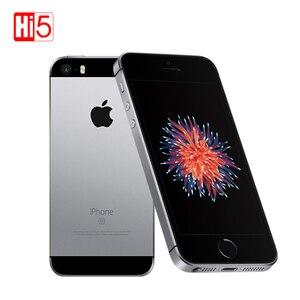 "Image 1 - Original Apple iphone SE Mobile PhoneA1723/A1662 2GB RAM 16GB/64GB ROM 4.0"" Multi language iOS Dual core Used Smartphone"