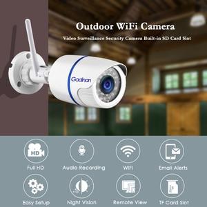 Image 2 - Gadinan Yoosee 1920X1080P 2MP Wifi וידאו מעקב מצלמה מלאה HD חיצוני מקורה אבטחת אודיו הקלטת IP מצלמה תצוגה רחבה