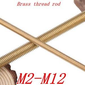 2-5pcs brass Thread Rod M2 M2.