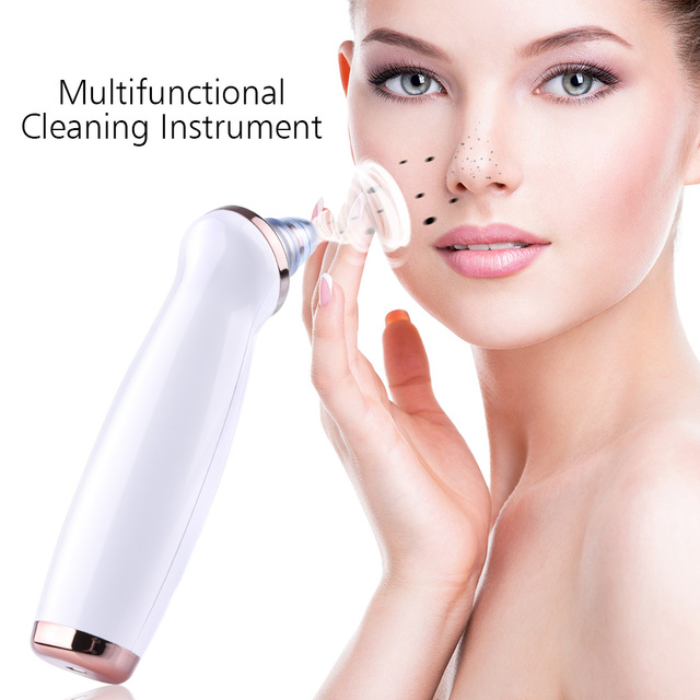 Blackhead Remover Skin Care Pore Vacuum Acne Pimple Removal Vacuum Suction Tool Facial Diamond Dermabrasion Machine Face Clean 3