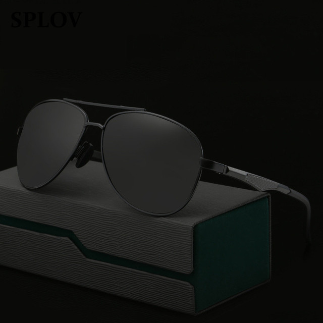 Aluminum Magnesium Sunglasses Polarized Lens Men Sun Glasses Male Driving Fishing Outdoor Eyewears Accessories Coating Feminino