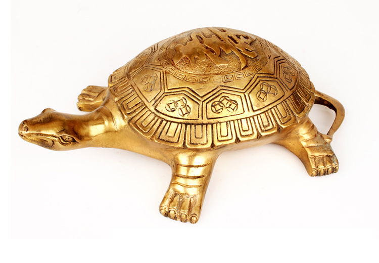 2019 office home town House Protection # Money Drawing divine godly Turtle FENG SHUI GOLDEN Brass statue-- efficacious Talisman2019 office home town House Protection # Money Drawing divine godly Turtle FENG SHUI GOLDEN Brass statue-- efficacious Talisman